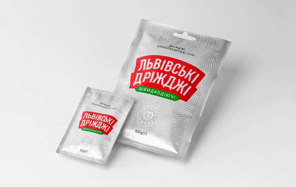 Lvivski Drizhdzhi redesign