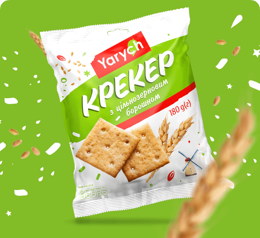 Yarych cracker redesign