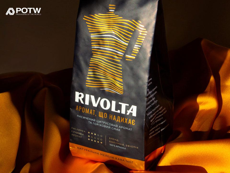 Rivolta coffee branding